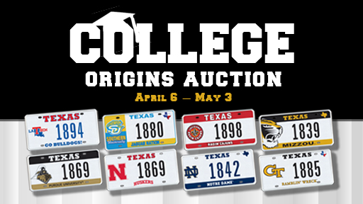 College Origins Auction
