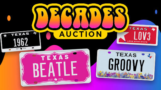 My Plates Decades Auction