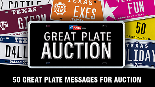 My Plates Great Plate Auction