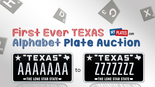 My Plates Alphabet Auction